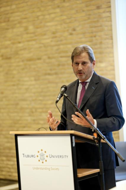 Participation of Johannes Hahn, Member of the EC, at first Cobbenhagen Summit in Tilburg