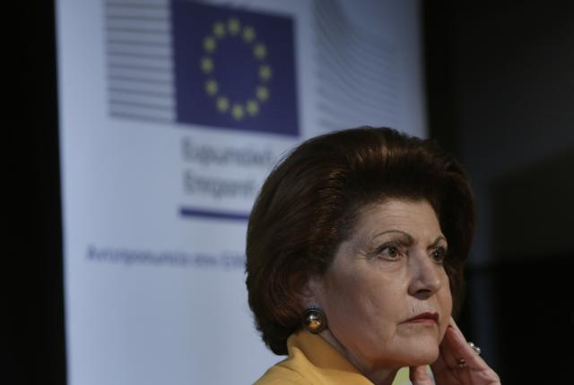 Visit of Androulla Vassiliou, Member of the EC, to Greece