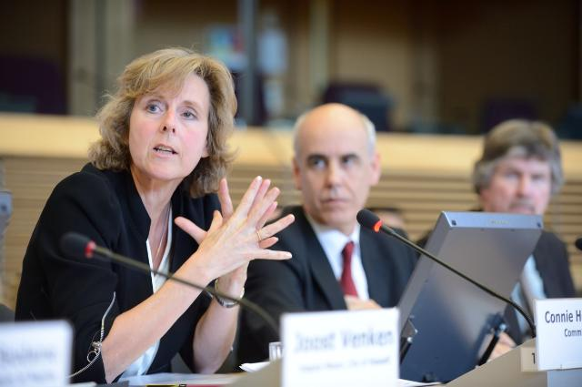 Launch of the 'Mayors Adapt' with the participation of Connie Hedegaard, Member of the EC