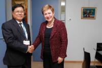 Visit of U Soe Thein, Minister of the President's Office of Myanmar/Burma, to the EC