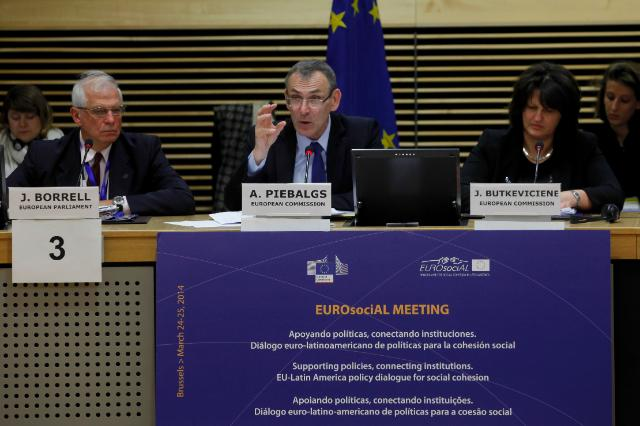 Participation of Andris Piebalgs, Member of the EC, at the EUROsociAL conference