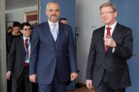 Visit of Edi Rama, Prime Minister of Albania, to the EC