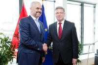 Visit of Edi Rama, Prime Minister of Albania, to the EC