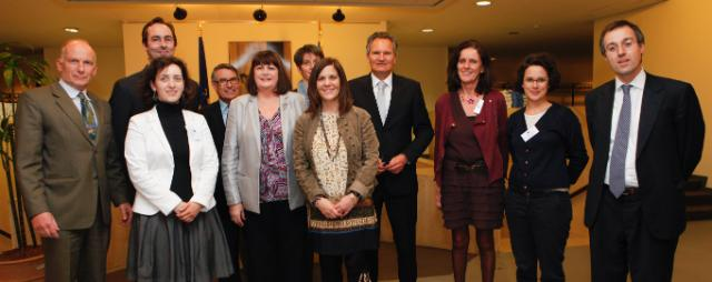 Meeting with the petitioners from the 'One of Us' Citizens' Initiative, with the participation of Máire Geoghegan-Quinn, Member of the EC