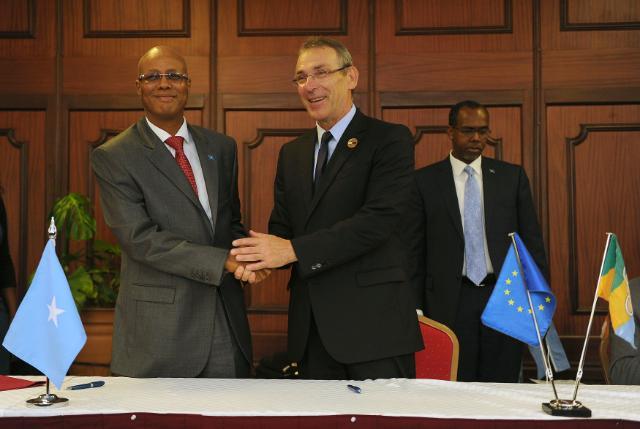 Visit of Andris Piebalgs, Member of the EC, to Kenya