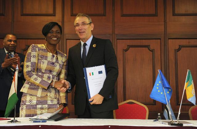 Visit of Andris Piebalgs, Member of the EC, to Kenya