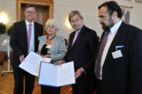 "Illustration of ""Participation of Johannes Hahn, Member of the EC, at the 3rd Annual Forum of the Danube Strategy in..."