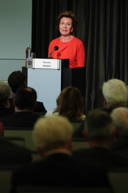 Participation of Neelie Kroes, Vice-President of the EC, in the event 'A Dynamic Digital Components and Systems Industry For Growth and Jobs in Europe'