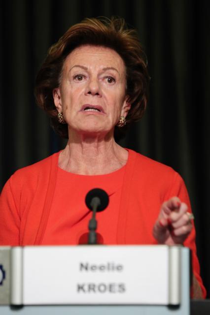Participation de Neelie Kroes, vice-présidente de la CE, à l'évènement 'Une industrie dynamique des composants et systèmes numériques pour la croissance et l'emploi en Europe'