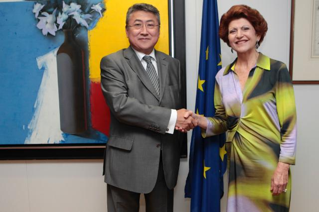 Visit of Khishigdelger Davaadorj, Head of the Mission of Mongolia to the EU, to the EC