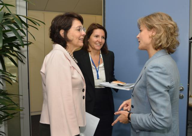 Visit of Isabel García Tejerina, Spanish Minister for Agriculture, Food and Environmental Affairs, to the EC