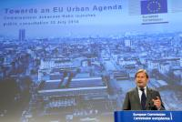 Press conference by Johannes Hahn, Member of the EC, on the future EU Urban Agenda