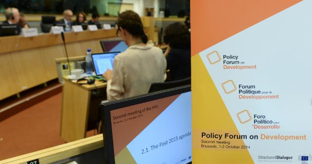 Participation of Andris Piebalgs, Member of the EC, at the 2nd meeting of the Policy Forum on Development