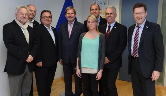Visite d'une délégation de Diakonie Autriche à la CE