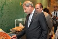 """Illustration of """"Visit by Johannes Hahn, Member of the EC, to Greece"""""""