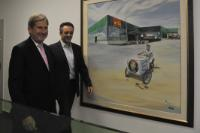 "Illustration of ""Visit by Johannes Hahn, Member of the EC, to Greece"""