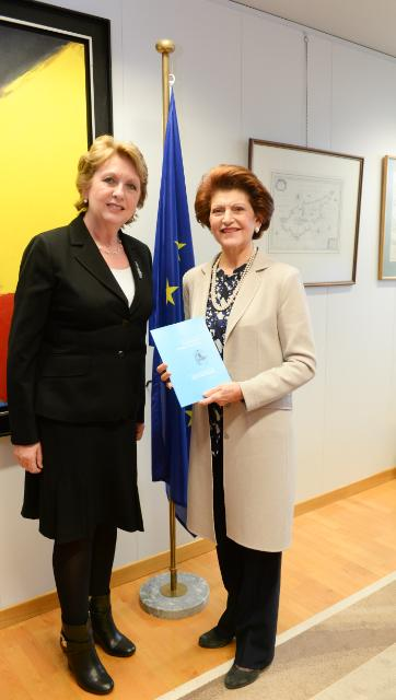 Visit of Mary McAleese, Chair of the High Level Group on the Modernisation of Higher Education, to the EC