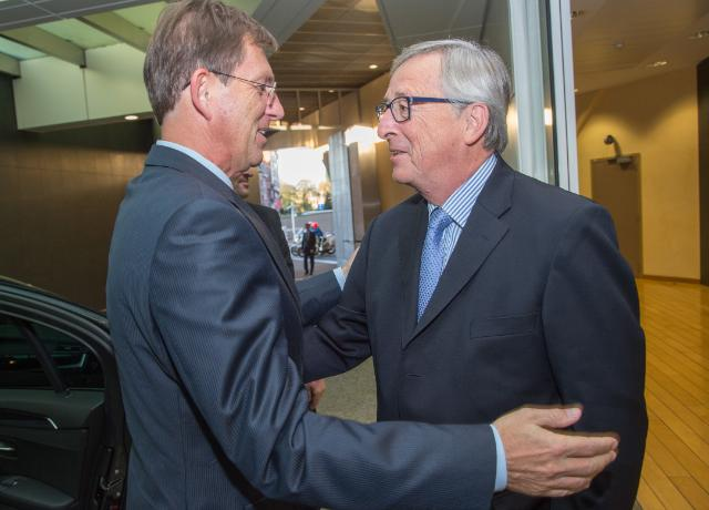 Visit of Miro Cerar, Slovenian Prime Minister, to the EC