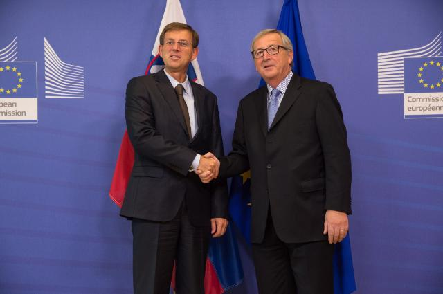 Visit of Miro Cerar, Slovenian Prime Minister, to the EC