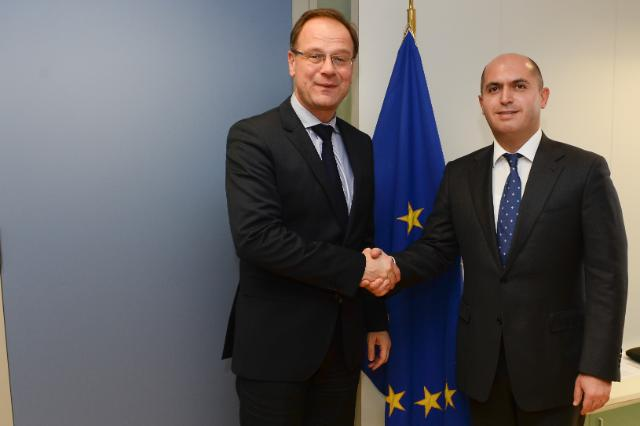 Visit of Armen Ashotyan, Armenian Minister for Education and Science, to the EC