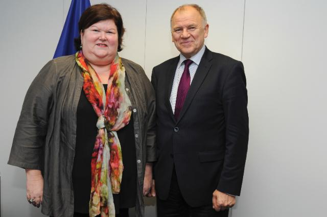 Visit of Maggie De Block, Belgian Minister for Social Affairs and Public Health, to the EC