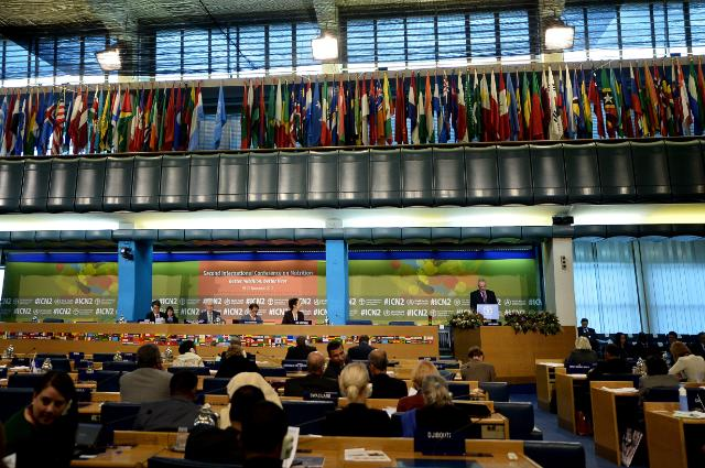 Participation of Neven Mimica, Member of the EC, at the 2nd International Conference on Nutrition, Rome, 19-21/11/2014