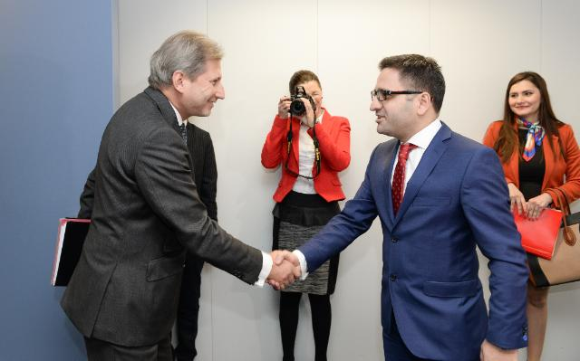 Visit of Fatmir Besimi, Deputy Prime Minister for European Affairs of the former Yugoslav Republic of Macedonia, to the EC