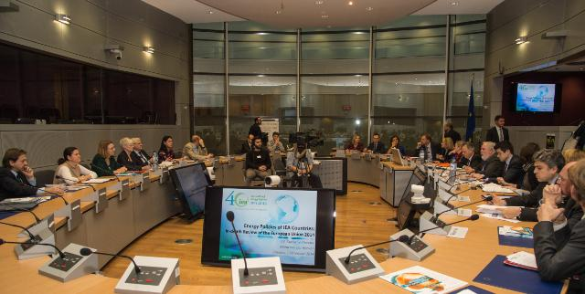 Presentation of the report 'Energy Policies of IEA Countries - European Union 2014 Review'