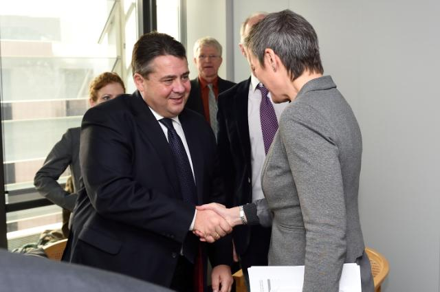Visit of Sigmar Gabriel, German Federal Vice-Chancellor; Minister for Economic Affairs and Energy, to the EC