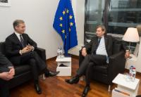 """Illustration of """"Visit of Iurie Leancă, Moldovan Prime Minister, to the EC"""""""