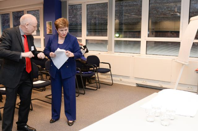 Participation of Kristalina Georgieva, Vice-President of the EC, in the event celebrating the 10th anniversary of the European School of Administration
