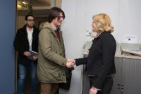 """Illustration of """"Visit of Ignazio Corrao, Member of the EP, to the EC"""""""