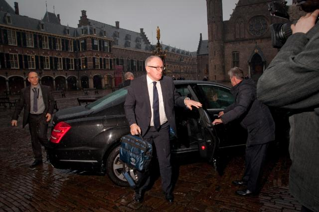 Visit of Frans Timmermans, First Vice-President of the EC, to the Netherlands