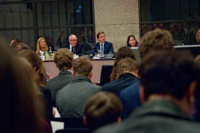 Visit by Frans Timmermans to The Hague