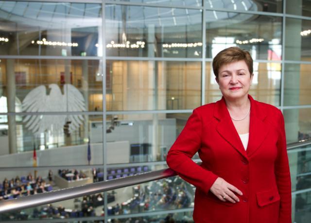 Visit by Kristalina Georgieva to Berlin