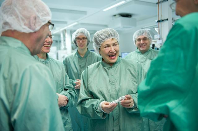 Visit of Kristalina Georgieva, Vice-President of the EC, to Germany