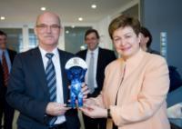 "Illustration of ""Visite de Kristalina Georgieva, vice-présidente de la CE, en Allemagne"""
