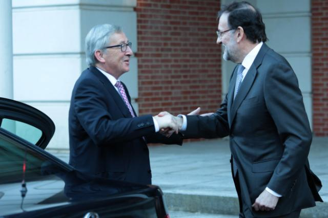 "Illustration of ""Visit by Jean-Claude Juncker to Madrid"""