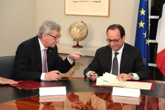Visit of Jean-Claude Juncker, President of the EC, to Spain