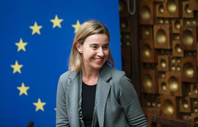 Visit by Federica Mogherini to Pristina