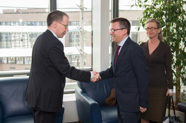 Visit of Heikki Mannila, President of the Academy of Finland, to the EC