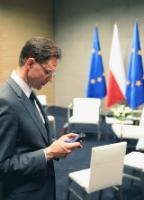 "Illustration of ""Visit of Jyrki Katainen, Vice-President of the EC, to Poland"""