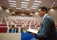 """Illustration of """"Visite de Jyrki Katainen, vice-président de la CE, en Pologne"""""""