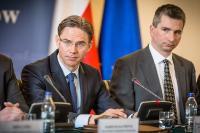 "Illustration of ""Visit of Jyrki Katainen, Vice-President of the EC, to Poland"""