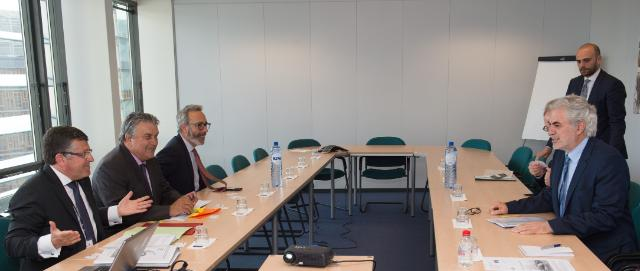 Visit of Franck Proust, Member of the EP, to the EC