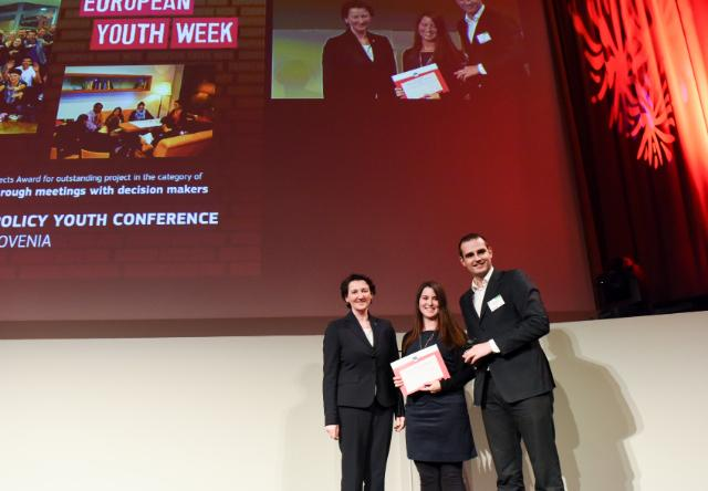 Participation de Tibor Navracsics, membre de la CE, à différents évènements organisés dans le cadre de la semaine européenne de la Jeunesse 2015 dont la cérémonie de remise des Prix de la jeunesse 2015