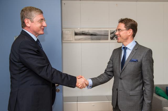 Visite de Ferenc Gyurcsány, ancien Premier ministre hongrois, à la CE