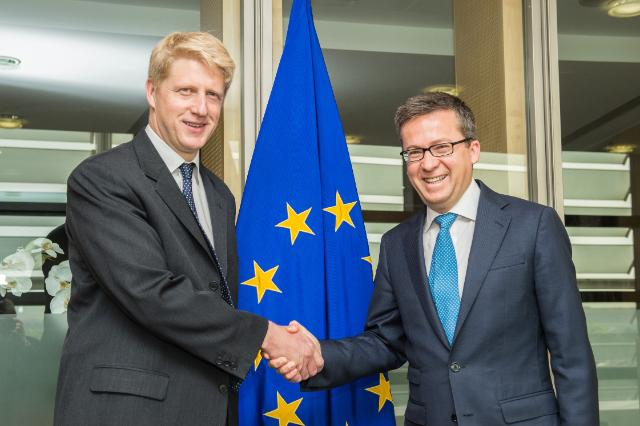 Visit of Jo Johnson, British Minister of State for Universities and Science, to the EC