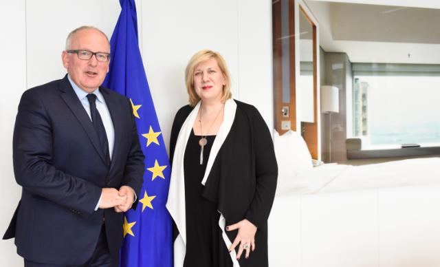 Visit of Dunja Mijatović, Representative of the OSCE on Freedom of the Media, to the EC