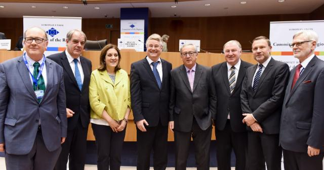 Participation of Jean-Claude Juncker, President of the EC, at the 112th Plenary Session of the CoR